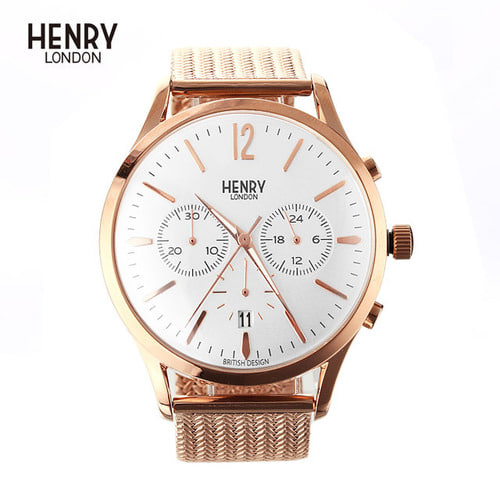 [헨리런던 HENRY LONDON] HL41-CM-0040 Richmond(리치몬드) 41mm